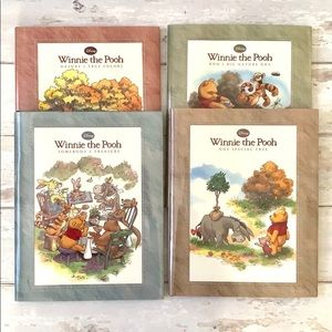 Disney Winnie The Pooh Story 4 Book Collection Set